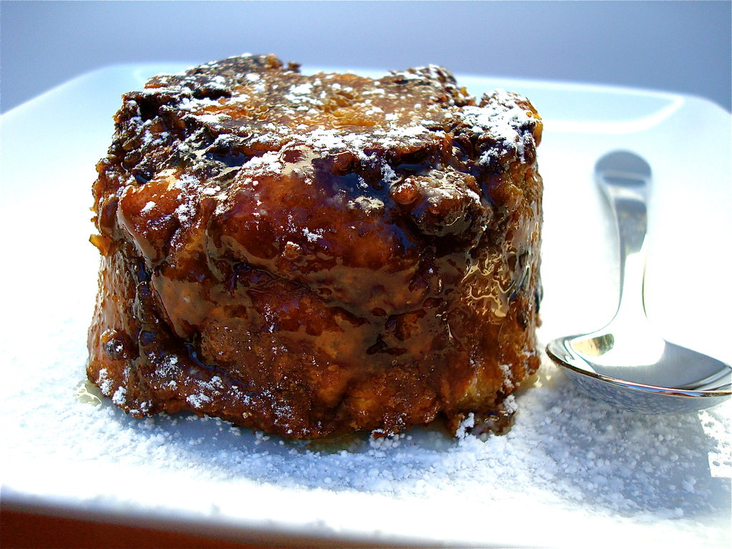 Chloe Coscarelli's awe-inspiring Chocolate Bread Pudding.