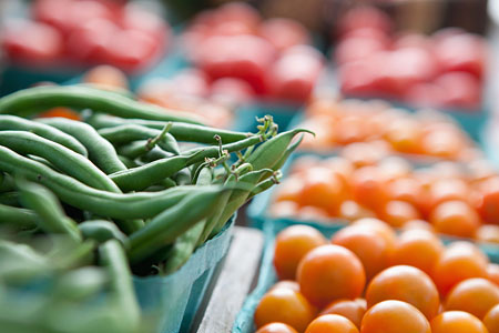 Where to go next? How about your local farmer's market! Photo: Lauren Krohn
